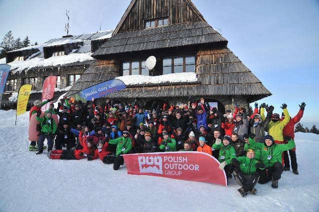 Ekipa na otwarciu Wintercamp 2012